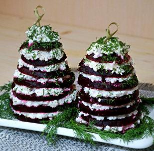 новый салат из свеклы