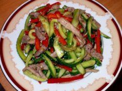 Рецепты пикантных салатов